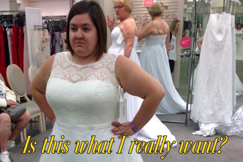 wedding dressa